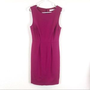 Trina Turk Pink Sleeveless Sheath Dress
